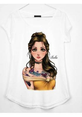 CAMISETA ESTAMPADA BELLA