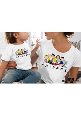 Camiseta Friends Carlitos