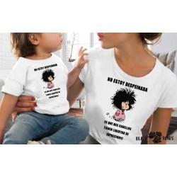 Camiseta Mafalda despeinada