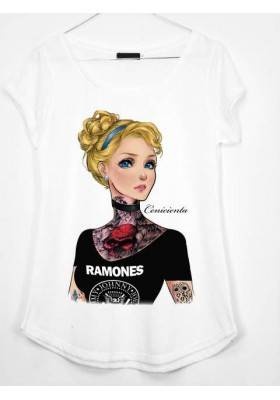CAMISETA ESTAMPADA CENICIENTA