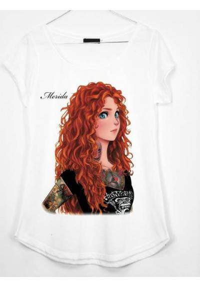 CAMISETA ESTAMPADA MERIDA
