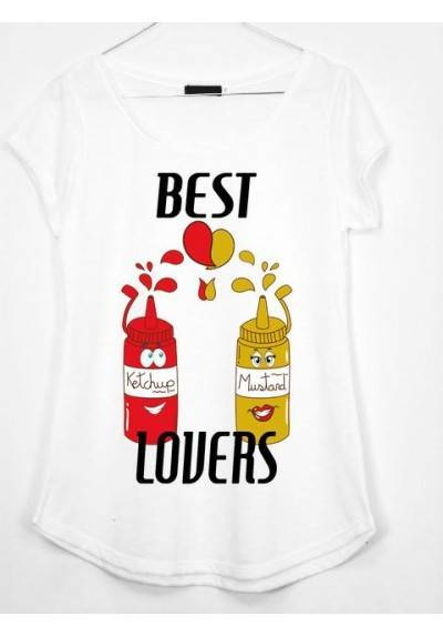 CAMISETA BEST LOVERS