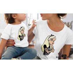 Camiseta Alicia Rock